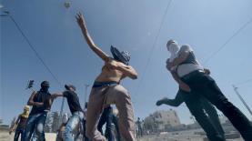 המהומות בשועפאט, צילום: Getty images Israel