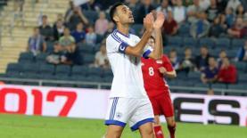 ערן זהבי נבחרת ישראל נגד אלבניה, צילום: רמי כהן שמאלי, אתר ישראל ספורט