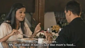 """אוכל """"כמו של אמא"""", צילום: יח""""צ/ צילום מסך"""