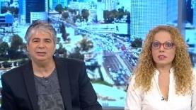 אורלי וגיא, צילום: מסך ערוץ 10