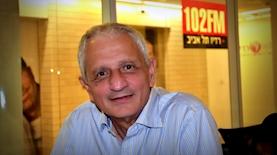 נחום ברנע ברדיו תל אביב, צילום: רדיו תל אביב