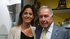 מורן דאי מניופאן ושמעון מזרחי ממכבי תל אביב, צילום: יחסי ציבור