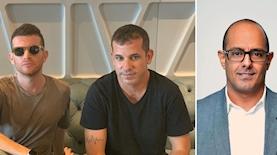 """זמיר דחבש, עודד הרשקוביץ ועידו מינקובסקי, צילום: יוסי זליגר, יח""""צ"""