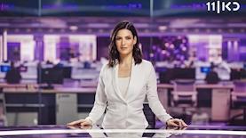 דוריה למפל באולפני החדשות החדשים של כאן, צילום: מיכה לובטון