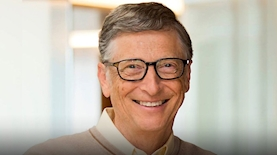 ביל גייטס, צילום: מתוך עמוד הפייסבוק של ביל גייטס