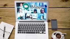 Google Meet, צילום: pixabay, unsplash