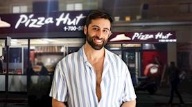 מעיין יחבס, צילום: גיל חיון, מתוך פייסבוק Pizza Hut