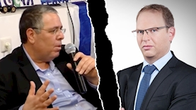 אביעד גליקמן, אלי ציפורי, צילום: חדשות 13, מסך יוטיוב