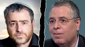 אלי ציפורי, שמעון ריקלין, צילום: מסך ערוץ 12, מתוך פרופיל הפייסבוק של שמעון ריקלין