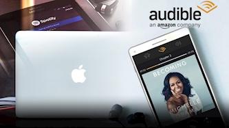 אמזון, פודקאסטים, אפל, ספוטיפיי, צילום: pixabay, Amazon