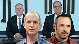 """יאיר טרצ׳יצקי, אלדד קובלנץ, קלמן וסג""""ל, צילום: מתוך אתר ההסתדרות, איה אפרים, יוטיב/קלמן וסגל"""