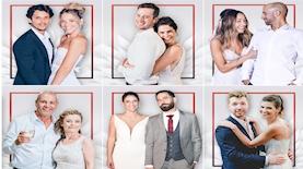 """זוגות העונה השלישית של """"חתונה ממבט ראשון"""", צילום: צילום מסך, mako"""