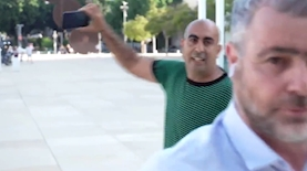 שמעון ריקלין וברק כהן, צילום: צילום מסך, הצינור