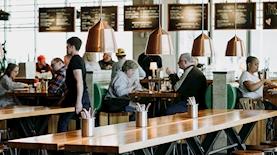 מסעדה, צילום: unsplash