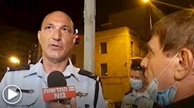 משה נוסבאום פוצץ ריאיון עם המשטרה, צילום: אור-לי ברלב