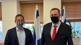 """ישראל כ""""ץ וד""""ר רון תומר, צילום: יחצ"""