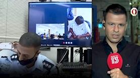 מאור צור והארכת המעצר של הגננת מרמלה, צילום: מסך חדשות 13
