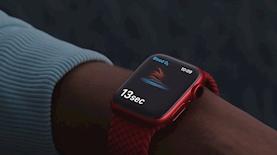 אפל ווטש שעון חכם, צילום: מסך