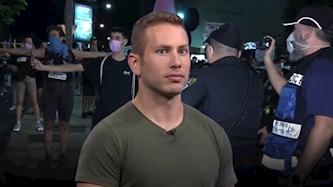 אבנר נתניהו, צילום: מסך כאן 11, מסך דוברות המשטרה