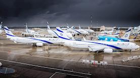 מטוסי אל על, צילום: פייסבוק/אל על - צילום: Yochai Mossi