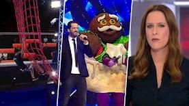 חדשות 13, הזמר במסכה, נינג'ה ישראל, צילום: מסך קשת 12