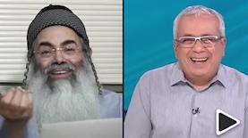 אמנון לוי ואמנון יצחק, צילום: מסך: פייסבוק רשת 13
