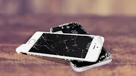 אייפון שבור, צילום: Pexels