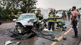 תאונת דרכים, צילום: גרשון אלינסון פלאש90