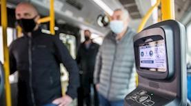 תיקוף באוטובוס אילוסטרציה, צילום: יונתן זינדל פלאש 90