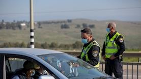 עומס תנועה במחסום, צילום: דוד כהן פלאש 90