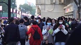 קורונה בסין, צילום: יוטיוב/CBC News