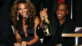 גיי זי ביונסה והשמפניה, צילום: צילום מסך טוויטר