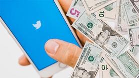 טוויטר וכסף, צילום: freepik