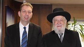 הרב ישראל מאיר לאו, צילום: בועז מולדבסקי ישראל מאיר לאו
