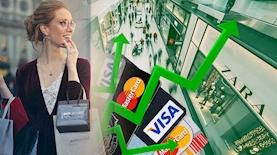 עליה בקניות באשראי, צילום: אייס