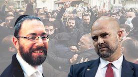ישראל פריי נגד אמיר אוחנה, צילום: רוני עופר יונתן סינדל פלאש 90 וטוויטר