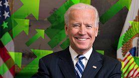 גו ביידן, צילום: Official portrait of United State