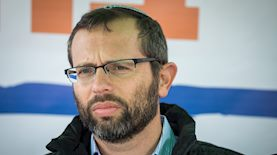 ישראל גנץ, צילום: יהונתן סינדל פלאש 90