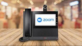 טלפון של ZOOM, צילום: Zoom Phone, pexels - edit ice