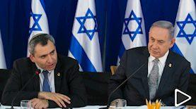 בנימין נתניהו וזאב אלקין, צילום: מארק ישראל סלם פול