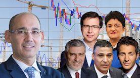 נגיד בנק ישראל ומנהלי הבנקים, צילום: עמוד הפייסבוק של בנק ישראל, יחצ גדי דגון,אבשלום ששוני,אורן דאי