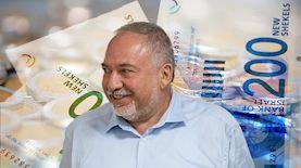 אביגדור ליברמן, שר האוצר, צילום: Yonatan Sindel/Flash90