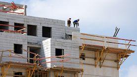 בנייה, צילום: פלאש 90/ גיל יערי