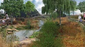 פארק מונגש חדש בצפון
