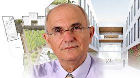 אריה מהרשק, נשיא המכללה האקדמית להנדסה אורט בראודה, צילום: באדיבות המכללה, באדיבות משרד האדריכלים מנספלד קהת