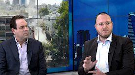יהודה הרציג (מימין) ורועי אלקבץ, צילום: אתר ice