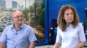 סגנית ראש עיריית תל אביב, מיטל להבי (מימין), השמאי והמשפטן, ארז כהן, צילום: אתר ice