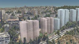 הדמיה של שכונת יפה נוף, צילום: רונאל אדריכלים