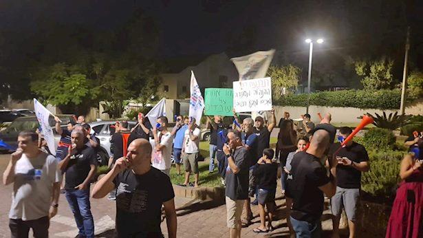 הפגנה בביתה של ציפי לבני: ועד אלפא דורש תשובות