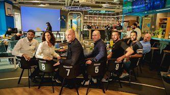 בכירי הספורט טק באירוע, צילום: ניר קידר, ארגון שחקניות ושחקני הכדורגל בישראל